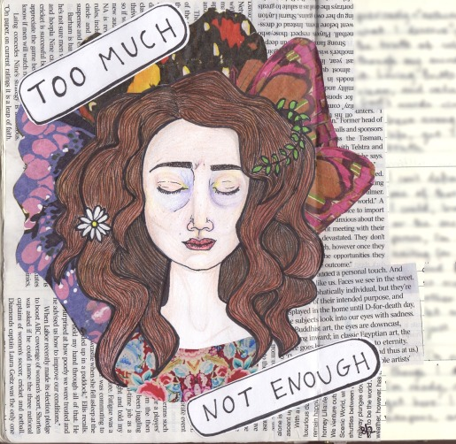 too much//not enough